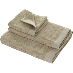 Roberto Cavalli - Logo Towel - Sand 886 - Hand Towel found on Bargain Bro UK from Amara UK