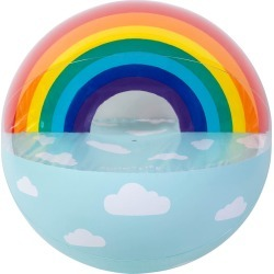 Sunnylife - Extra Large Inflatable Ball - Rainbow found on Bargain Bro Philippines from Amara US for $44.00
