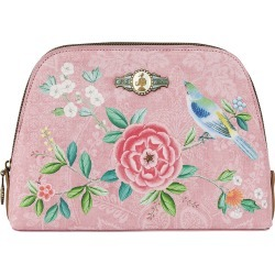 Pip Studio - Good Morning Triangle Cosmetic Bag - Pink - Medium found on Makeup Collection from Amara UK for GBP 34.64