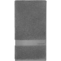 Calvin Klein - Tracy Towel - Charcoal - Bath Towel found on Bargain Bro UK from Amara UK