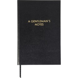 Sloane Stationery - A6 Notebook - 'A Gentleman's Notes' found on Bargain Bro UK from Amara UK