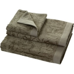 Roberto Cavalli - Logo Towel - Grey 905 - Guest Towel found on Bargain Bro UK from Amara UK