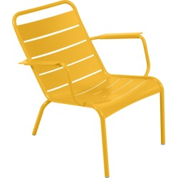 Fermob - Luxembourg Low Armchair - Honey found on Bargain Bro UK from Amara UK