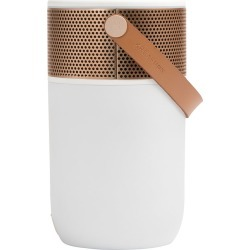 KREAFUNK - aGlow Bluetooth Speaker - White with Rose Gold Front found on Bargain Bro UK from Amara UK