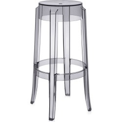 Kartell - Charles Ghost Hocker - Rauchgrau - 75cm found on Bargain Bro Philippines from Amara FR/DE for $279.50