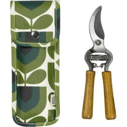 Orla Kiely - Pruners in a Pouch - Striped Tulip found on Bargain Bro UK from Amara UK