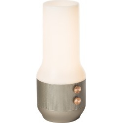 Lexon - Terrace Lamp/Speaker/Portable Charger - Light Gold found on Bargain Bro Philippines from Amara US for $131.00