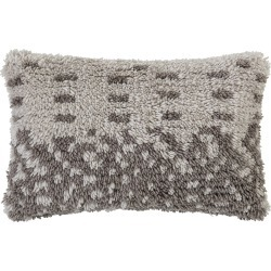 Bloomingville - White Wool Pillow - 60x40cm