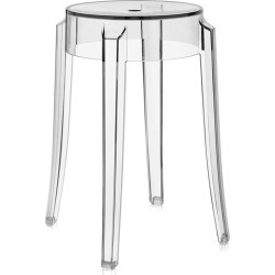 Kartell - Charles Ghost Hocker - Kristall - 46cm found on Bargain Bro Philippines from Amara FR/DE for $163.80
