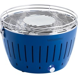 Lotus Grill - Portable Charcoal Grill - Blue