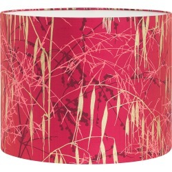 Clarissa Hulse - Three Grasses Lamp Shade - Hot Pink/Fuschia/Gold - Medium