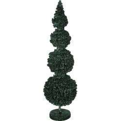 A by Amara - Topiary Sphere Berries Ornament - Green - Small found on Bargain Bro UK from Amara UK