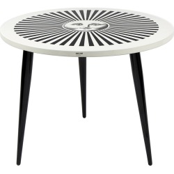 Fornasetti - Table avec Pieds en Bois Sole Raggiante - Ø60cm found on Bargain Bro Philippines from Amara FR for $2080.00