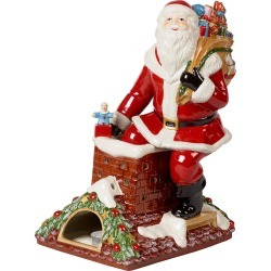 Villeroy & Boch - Christmas Toy's Memory Santa On Rooftop Ornament found on Bargain Bro UK from Amara UK