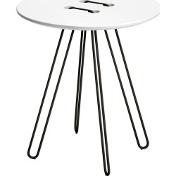 Horm & Casamania - Twine Table - White & Black