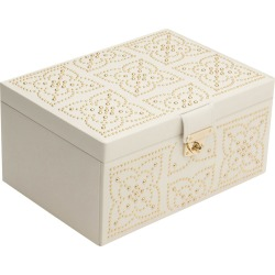 Wolf - Marrakesh Medium Jewellery Box - Cream found on Makeup Collection from Amara UK for GBP 372.33