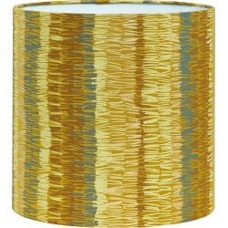 Clarissa Hulse - Textured Stripe Lamp Shade - Turmeric - Small