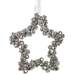 A by Amara - Star Hanging Ornament - Silver found on Bargain Bro UK from Amara UK