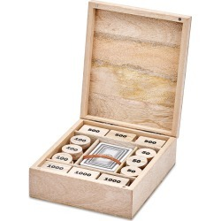 Nkuku - Mango Wood Poker Set found on GamingScroll.com from Amara US for $98.00