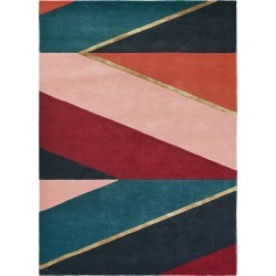 Ted Baker - Sahara Rug - 140x200cm - Burgundy found on Bargain Bro UK from Amara UK