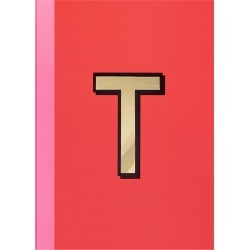 Re: Stationery - A5 Softcover Notebook - T found on Bargain Bro UK from Amara UK