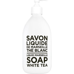 Compagnie de Provence - Black & White Liquid Soap - White Tea - 300ml found on Makeup Collection from Amara UK for GBP 15.27