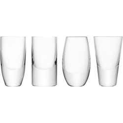 LSA International - Lulu Vodka Glasses - Set of 4 - Assorted found on Bargain Bro Philippines from Amara US for $50.00