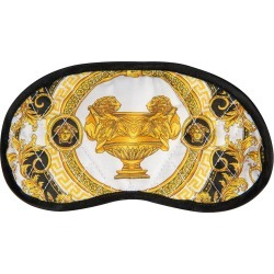 Versace Home - La Coupe Des Dieux Fabric Night Mask - Grey/White/Gold found on Makeup Collection from Amara UK for GBP 200.39