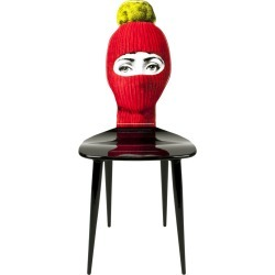 Fornasetti - Chaise Lux Gstaad - Rouge found on Bargain Bro Philippines from Amara FR for $5599.10