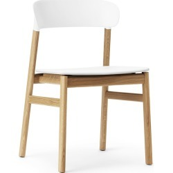 Normann Copenhagen - Herit Oak Chair - White found on Bargain Bro UK from Amara UK