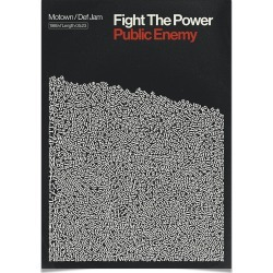 Reign & Hail - Affiche Fight The Power - A2