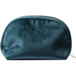 Tonic - Luxe Velvet Moon Pouch - Teal found on Makeup Collection from Amara UK for GBP 30.15