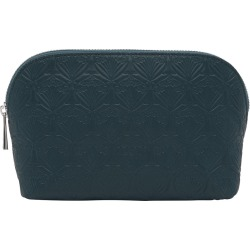 Liberty London - Embossed Cosmetic Bag - Petrol found on Makeup Collection from Amara UK for GBP 129.94