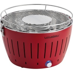 Lotus Grill - Portable Charcoal Grill - Red