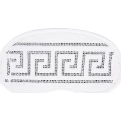 Versace Home - Medusa Crystal Eye Mask - White found on Makeup Collection from Amara UK for GBP 154.15