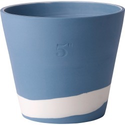 Wedgwood - Burlington Pot - White on Pale Blue - 12.5cm found on Bargain Bro UK from Amara UK