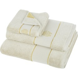 Roberto Cavalli - Gold New Towel - Sand - Bath Sheet found on Bargain Bro UK from Amara UK