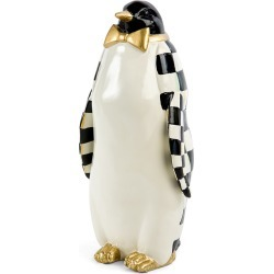 MacKenzie-Childs - Courtly Check Penguin Ornament found on Bargain Bro UK from Amara UK