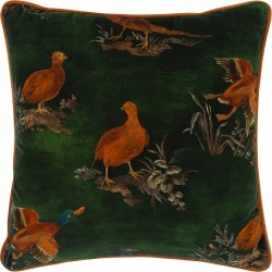 Mulberry Home - Game Show Pillow - 45x45cm - Emerald