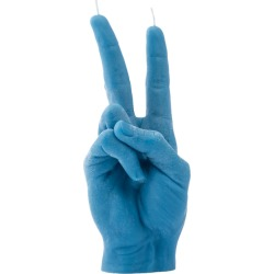 Candle Hands - 'Victory' Candle - Blue