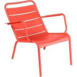 Fermob - Luxembourg Low Armchair - Poppy found on Bargain Bro UK from Amara UK