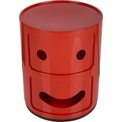 Kartell - Smile-Aufbewahrungseinheit von Componibili - Rot - :) found on Bargain Bro Philippines from Amara FR/DE for $156.00