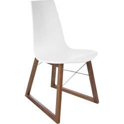 Horm & Casamania - Ray Chair - Walnut & White