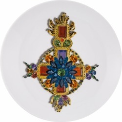Christian Lacroix - Love Who You Want Dessert Plate - Vénitienne found on Bargain Bro UK from Amara UK