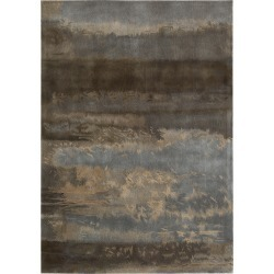Calvin Klein - Luster Wash Rug - Chrome - 122x183cm found on Bargain Bro India from Amara US for $894.00