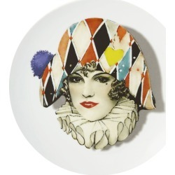 Christian Lacroix - Love Who You Want - 'Miss Harlequin' Plate found on Bargain Bro UK from Amara UK