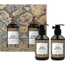 The Gift Label - Christmas Hand & Body Wash Gift Set - Stay Awesome found on Makeup Collection from Amara UK for GBP 32.3