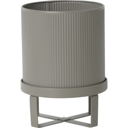 Ferm Living - Bau Plant Pot - Warm Grey - Small found on Bargain Bro UK from Amara UK