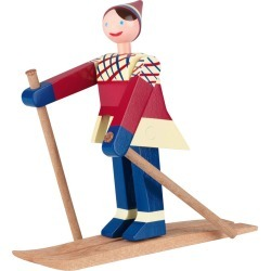 Kay Bojesen - Datti The Girl Skier Wooden Toy found on Bargain Bro Philippines from Amara US for $90.00