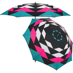 Klaoos - Kaleidoscope Beach Umbrella - Pink found on Bargain Bro UK from Amara UK